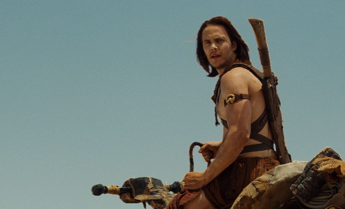 Taylor Kitsch as John Carter