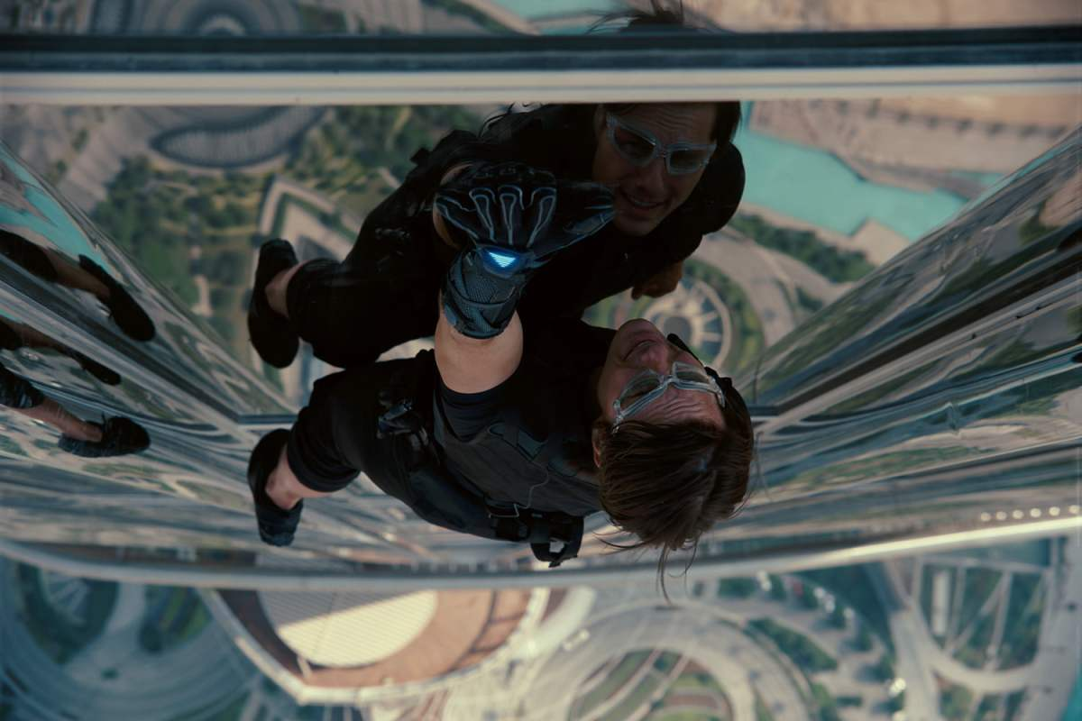 Tom Cruise in Mission: Impossible -- Ghost Protocol