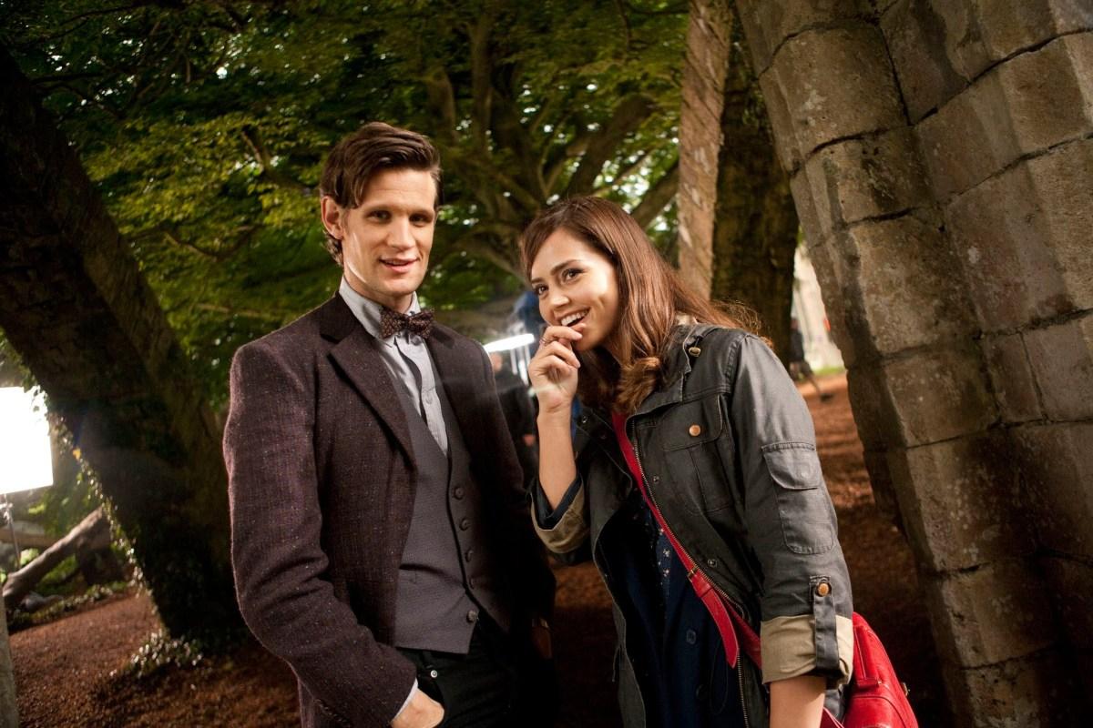 Matt Smith and Jenna-Louise Coleman
