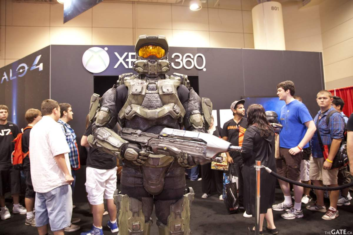 Master Chief at Fan Expo