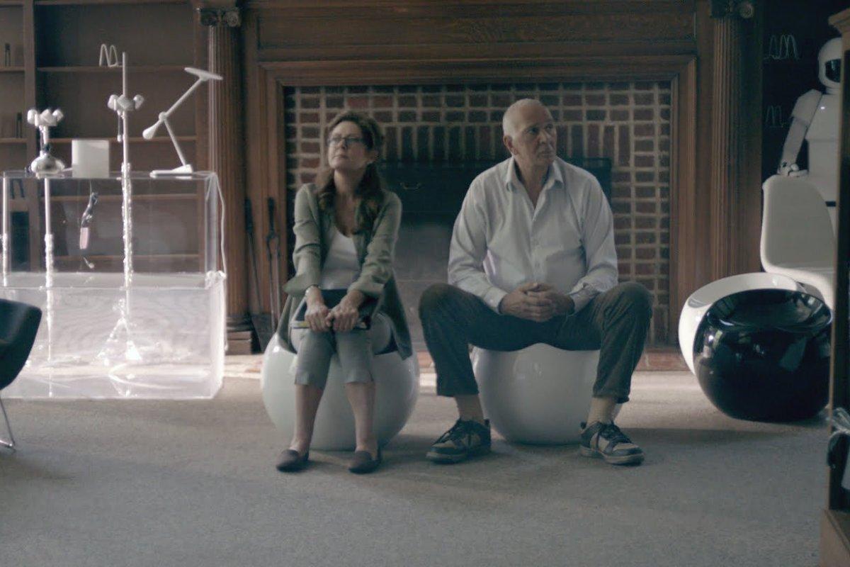 Susan Sarandon and Frank Langella in Robot & Frank
