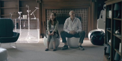 Susan Sarandon and Frank Langella in Robot & Frank