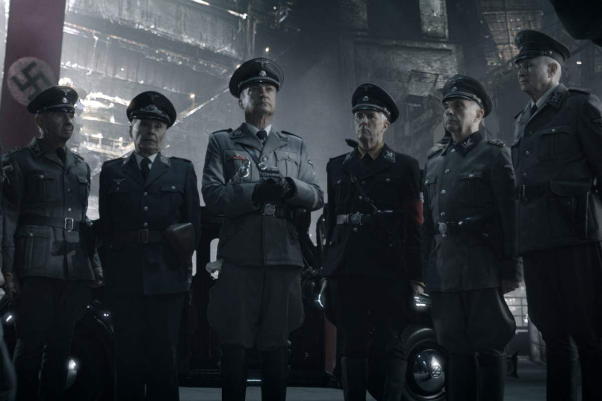 A scene from Iron Sky
