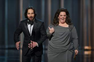 Melissa McCarthy and Paul Rudd