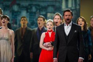 The cast of Les Misérables