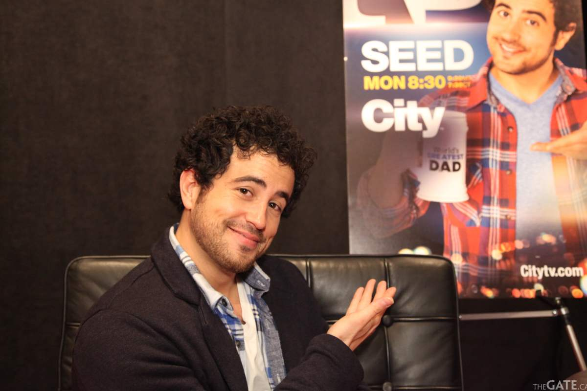 Adam Korson star of 'Seed'