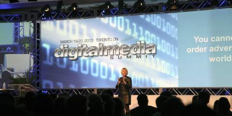 Cindy Gallop at Digital Media Summit