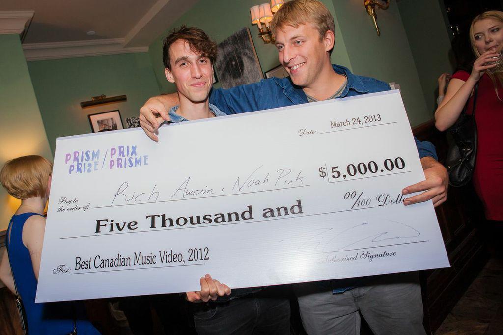 Prism Prize winner Noah Pink