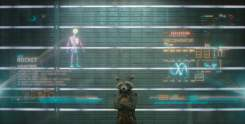 Rocket Raccoon voiced by Bradley Cooper