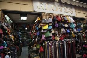 Leather glove store