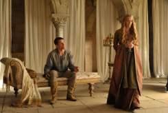 Nikolaj Coster-Waldau as Jaime Lannister and Lena Headey as Cersei Lannister