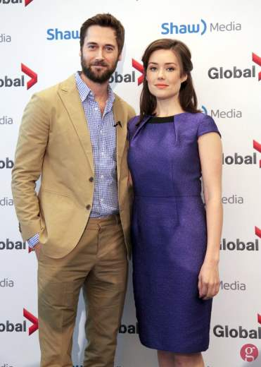 The Blacklist's Ryan Eggold and Megan Boone