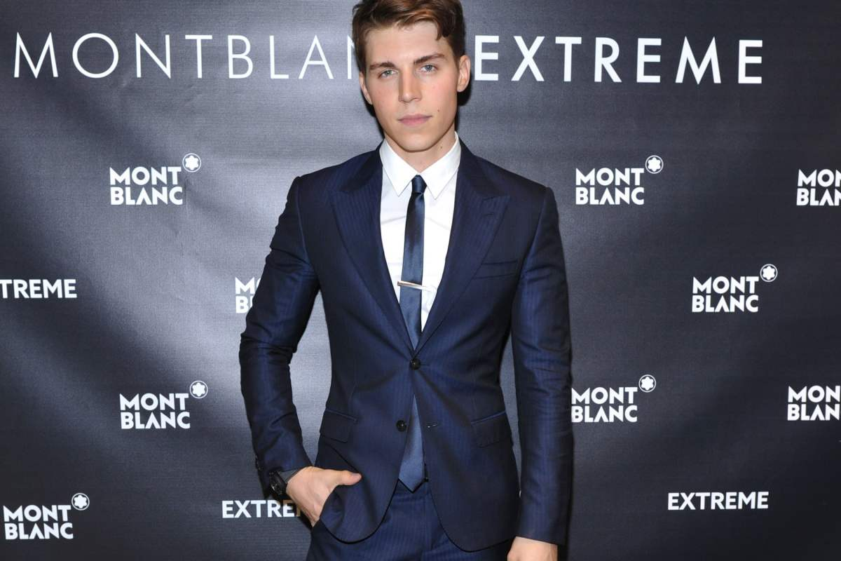 Montblanc Celebrates Grand Opening Of Yorkdale Boutique With Nolan Gerard Funk