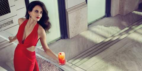 Eva Green for the 2015 Campari Calendar