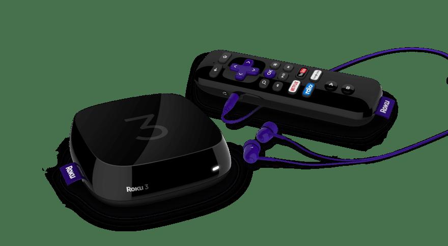 Roku 3 and remote