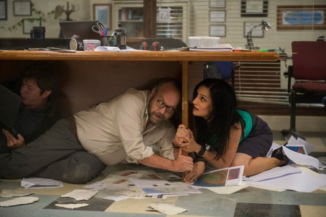 Paul Giamatti and Archie Panjabi