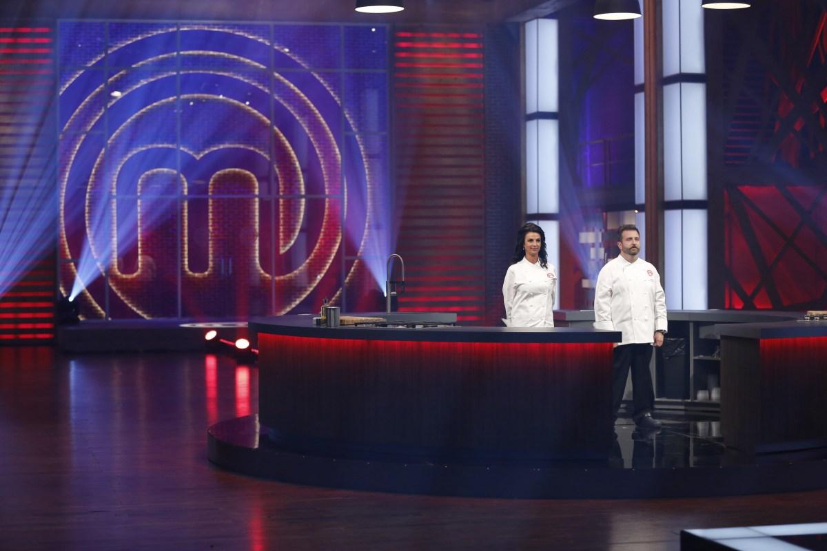 Line Pelletier and David Jorge on MasterChef Canada