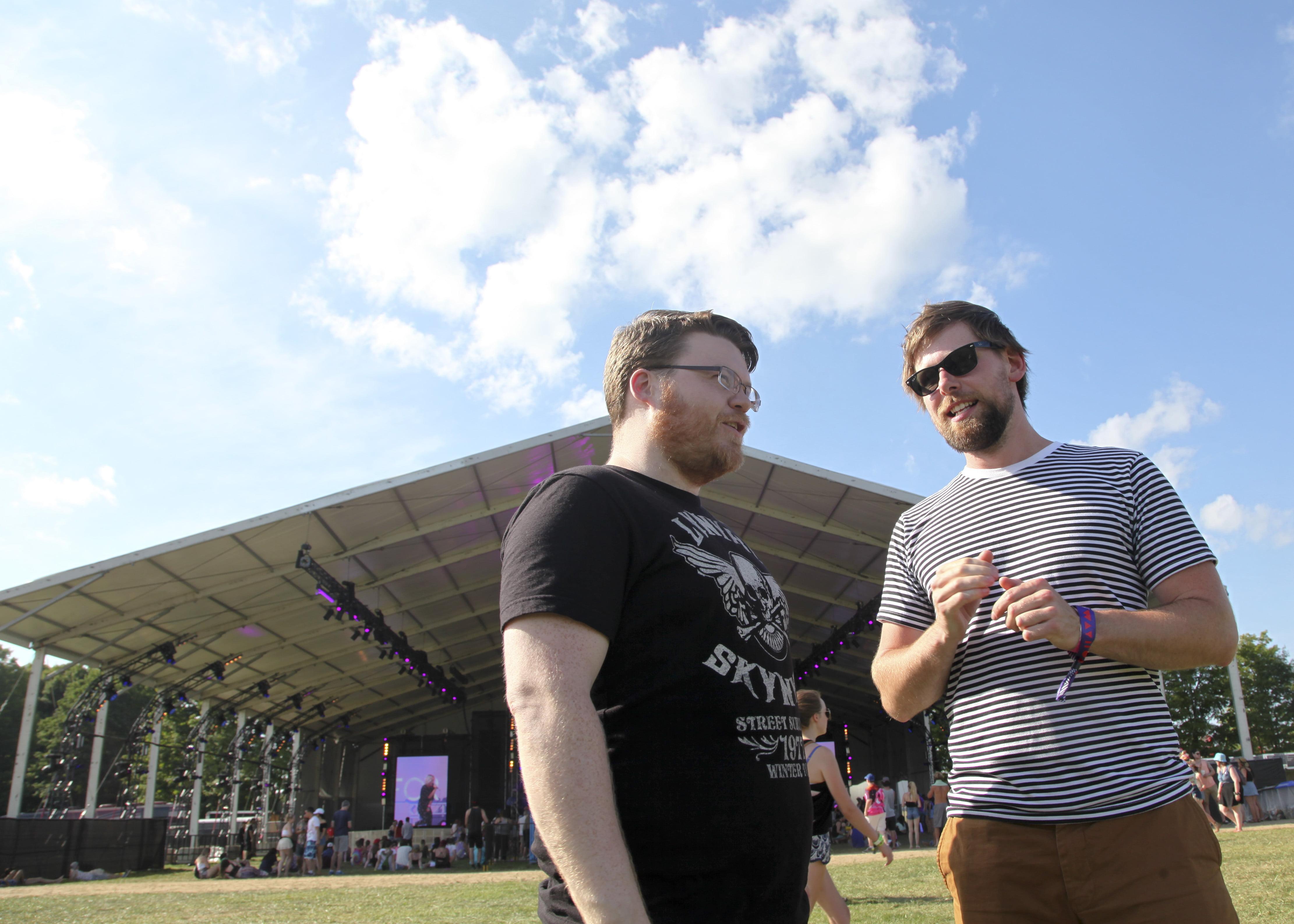 Josh Ward and Phil Maloney of Hey Rosetta!