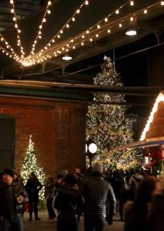TO Christmas Market tree
