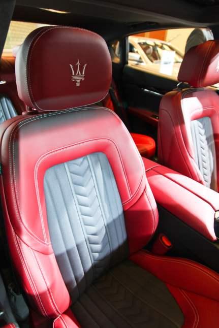 Maserati Ghibli S Q4 interior