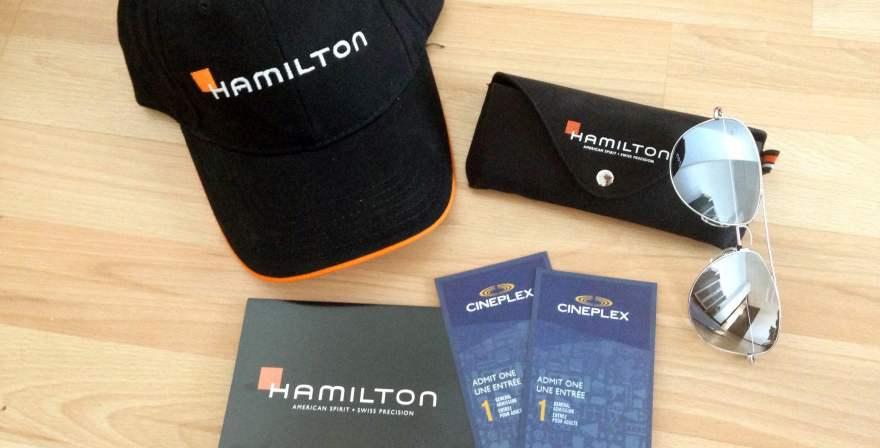 Hamilton Watch giveaway