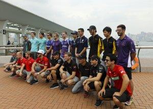 Hong Kong ePrix driving teams