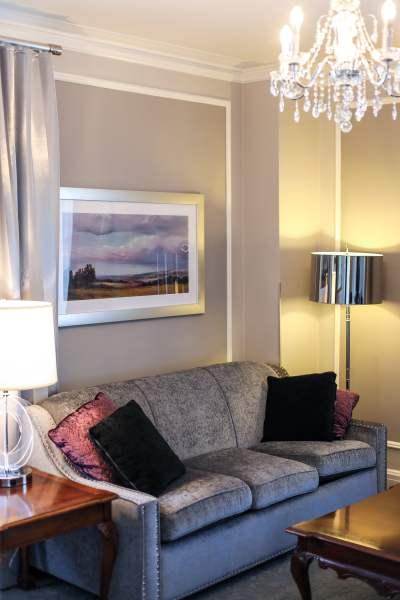 Premier's Suite - Living Room