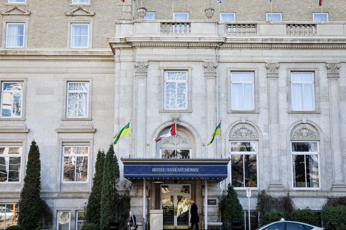 The Hotel Saskatchewan in Regina