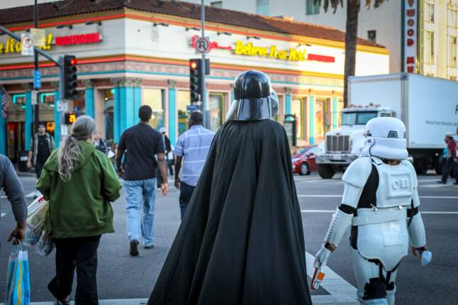 Darth Vader in Hollywood