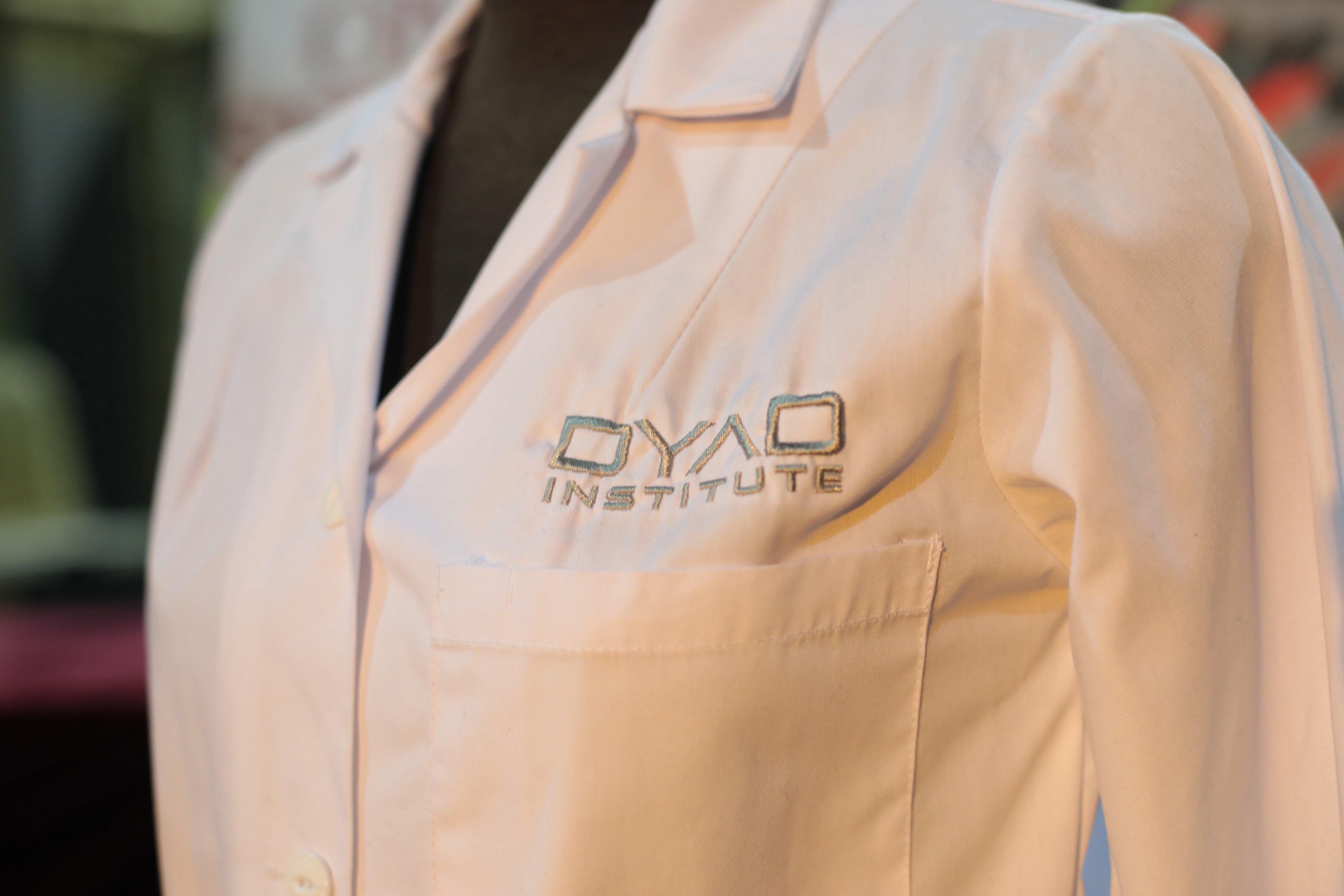Dyad Institute lab coat