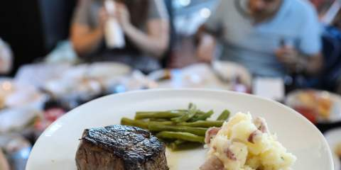 Eat Together Day: steak and happiness