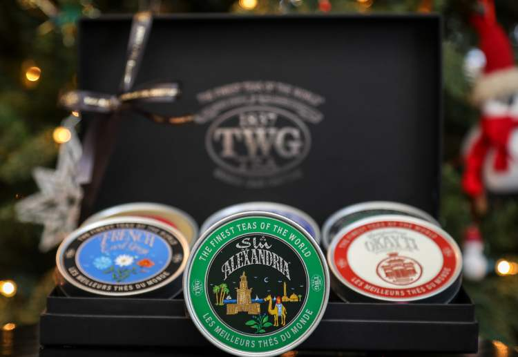 TWG Tea - World Voyage Christmas Tea Set