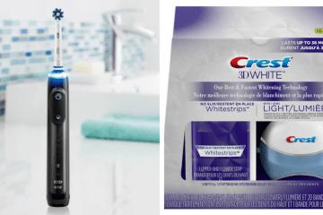 Oral-B Genius Pro 8000 + Crest 3D White Whitestrips