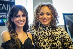 Shenae Grimes-Beech and Angela Griffin for The Detail