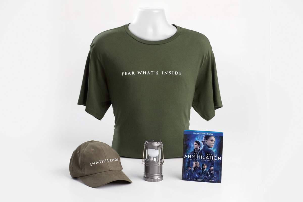 Annihilation Prize Pack