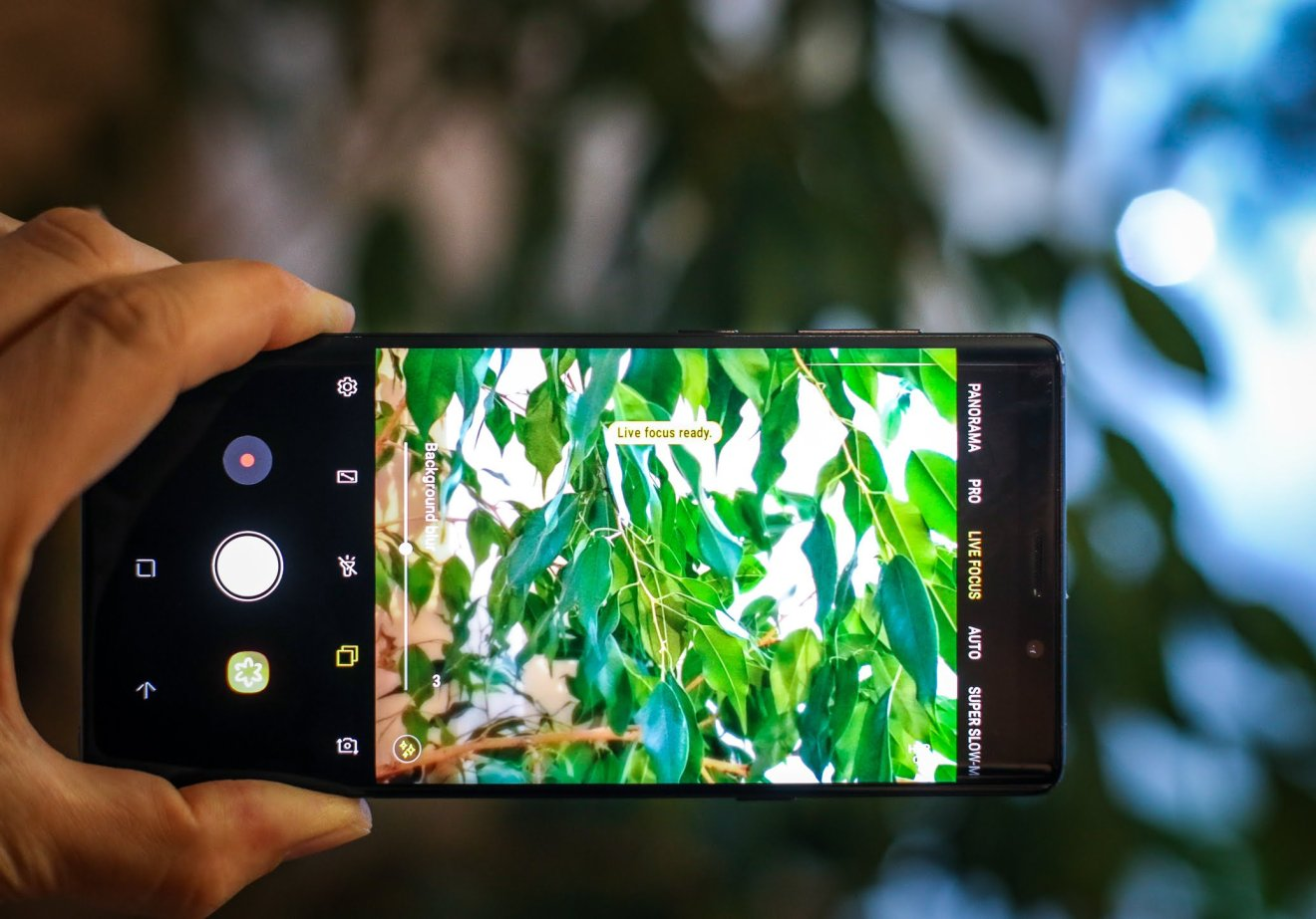 Samsung Galaxy Note 9 - Live Focus mode