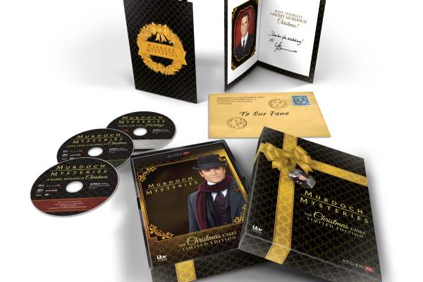Murdoch Mysteries: The Christmas Cases Limited Edition