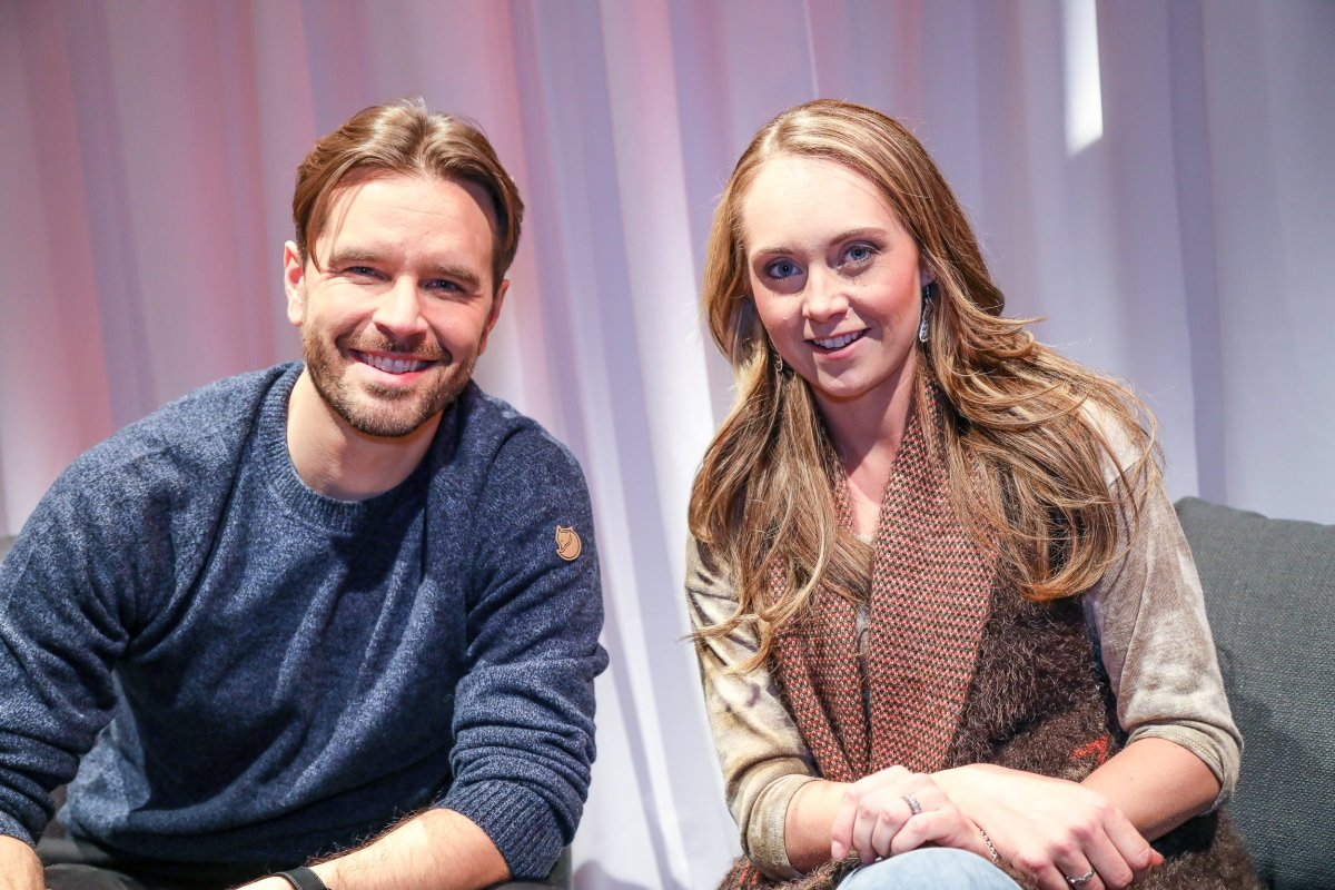 Amber Marshall & Graham Wardle chat Heartland season 12
