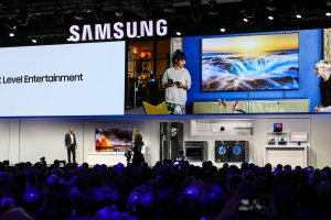 Samsung CES Press Conference