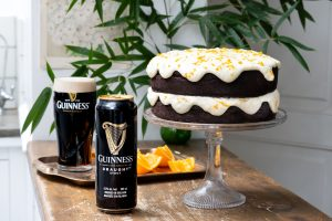 Chocolate Guinness Orange Cream Cake