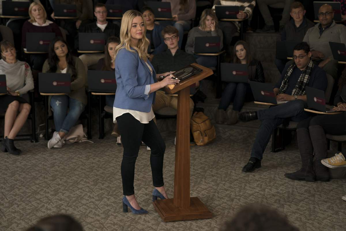 Sasha Pieterse in Pretty Little Liars: The Perfectionists