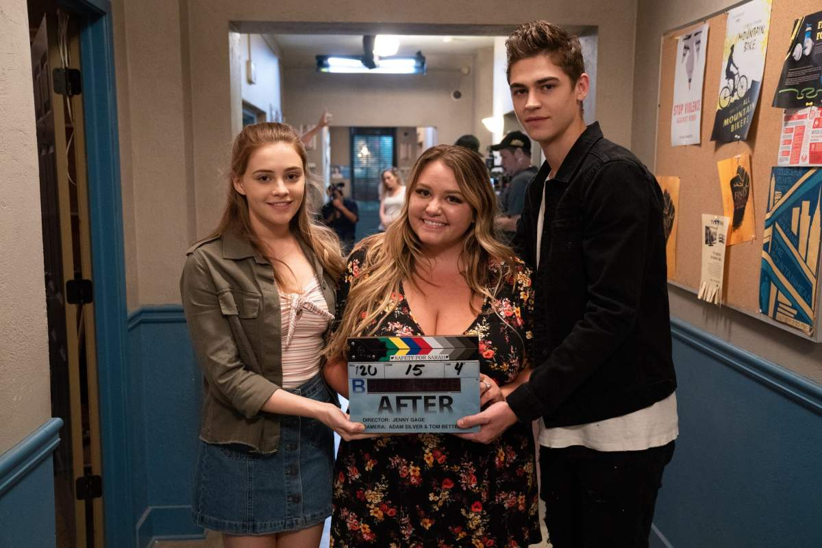 Josephine Langford, Hero Fiennes-Tiffin & Anna Todd talk After