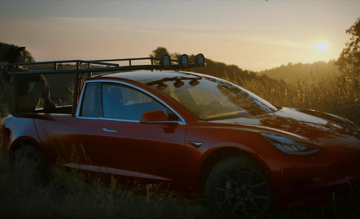 Truckla - first Tesla truck