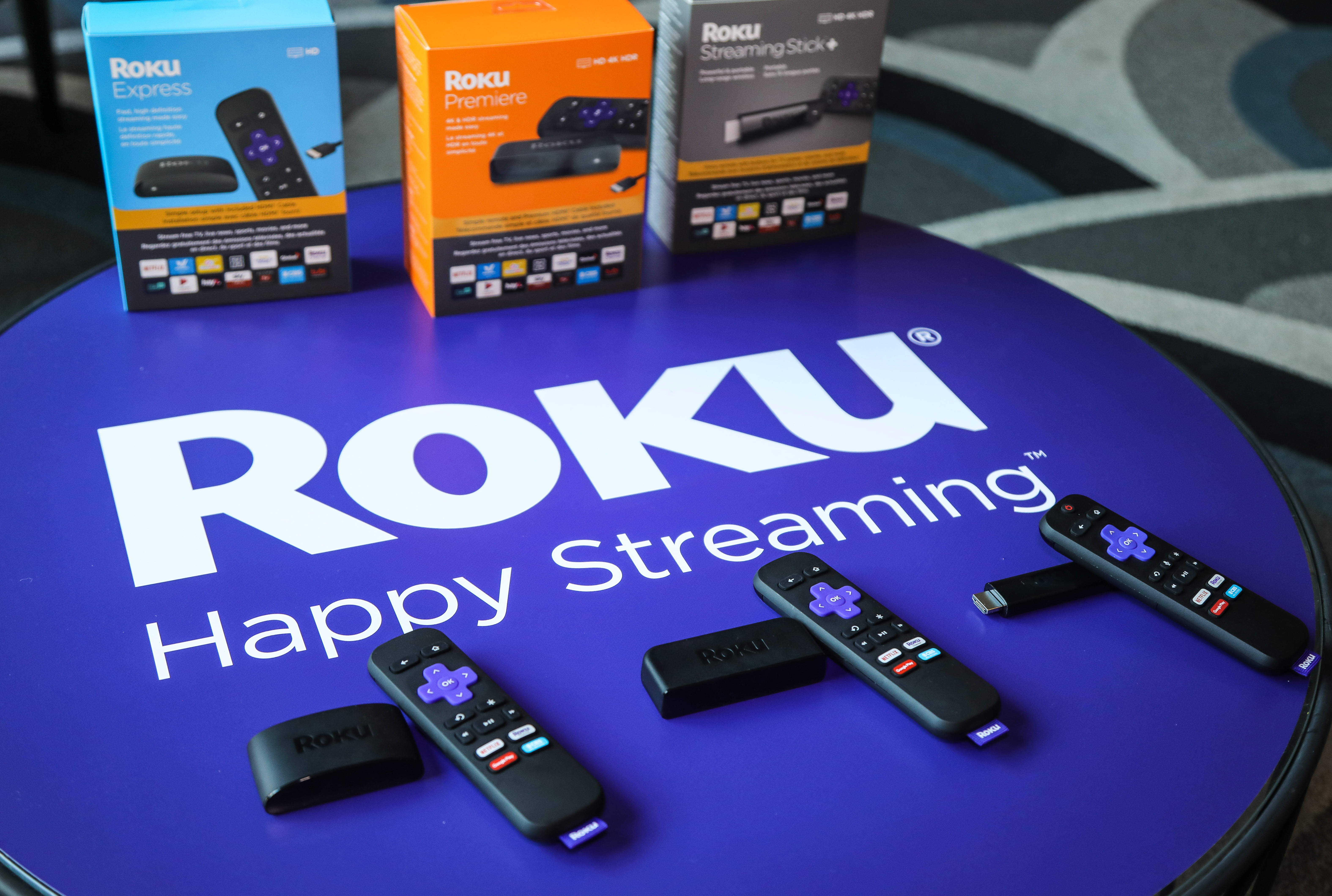 Roku streaming devices