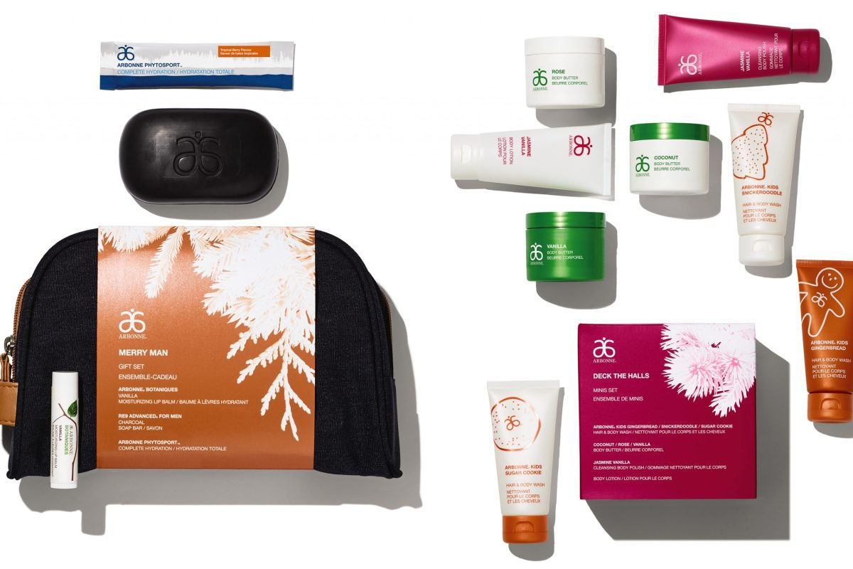 Arbonne His & Hers gift sets