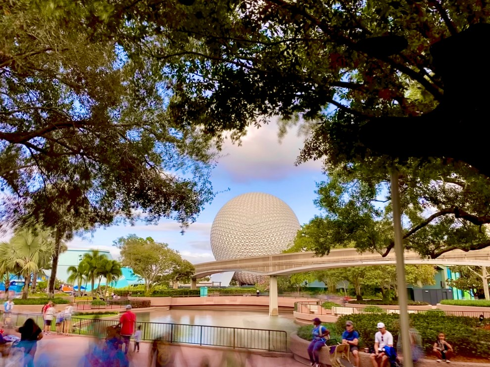 Long exposure of Epcot
