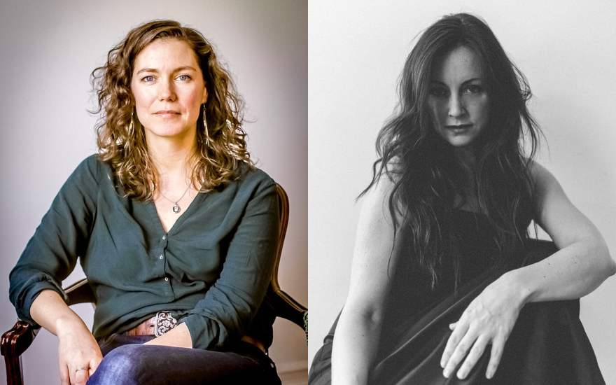 Catherine MacLellan and Tara MacLean