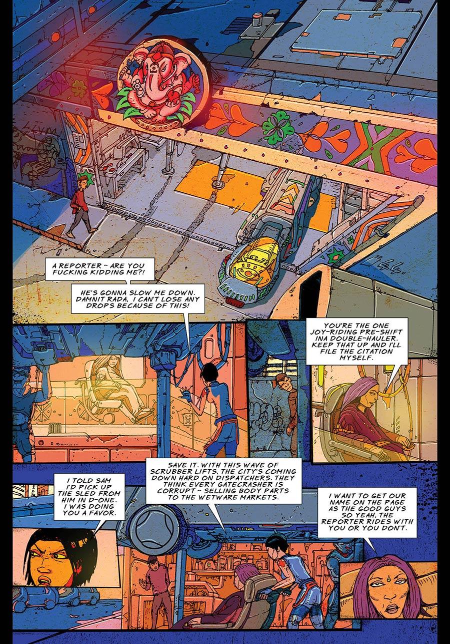 A Night of Gatecrashing: Page 013