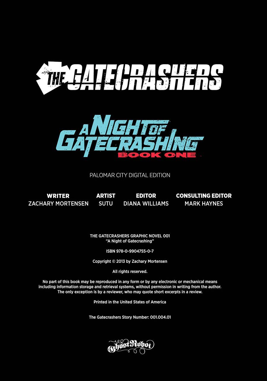 A Night of Gatecrashing Info Page