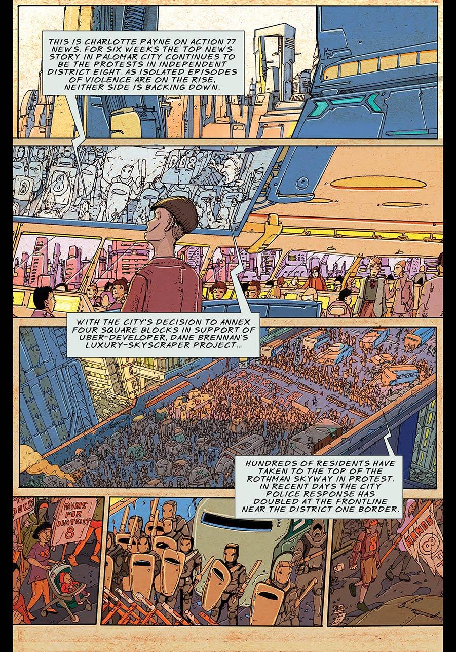 A Night of Gatecrashing: Page 009